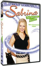 Sabrina the Teenage Witch Final Season DVD Cover Art