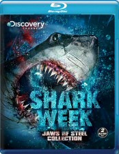 Shark Week Jaws of Steel Collection Blu-ray Cover Art