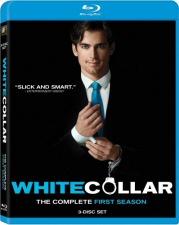 White Collar Season One Blu-ray Cover Art