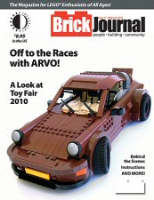 Brick Journal #11 Cover Art