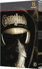 Gangland Season 5 DVD Cover Art