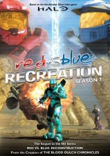 Red vs. Blue: Season 7: Recreation DVD Cover Art