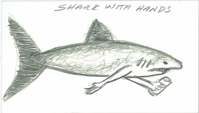 Shark With Hands!