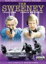 The Sweeney: The Complete Series Four DVD Cover Art