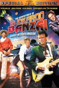The Adventures of Buckaroo Banzai DVD cover