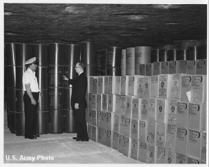 Civil Defense stores at Underground Vaults