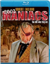 2001 Maniacs Blu-ray Cover Art