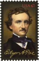 Edgar Allan Poe stamp