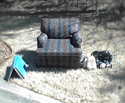 Empty Recliner