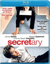 Secretary Blu-ray Cover Art