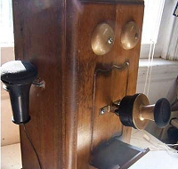 Old-fashioned Skype phone