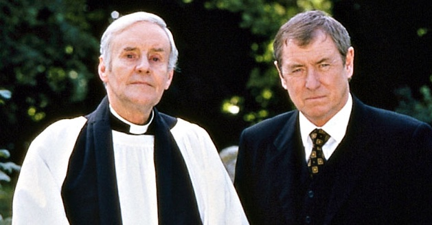 Midsomer Murders Richard Briers and John Nettles