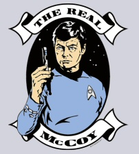 Real McCoy T-Shirt from Tshirt Bordello