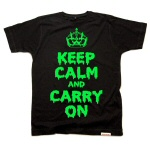 Keep Calm and Carry On Halloween style by Yes No Maybe UK