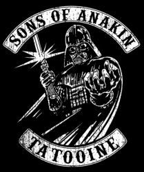 Son of Anakin: Tatooine from Tshirt Bordello