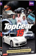 Top Gear: The Complete Season 15 DVD