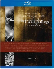 Music Videos and Performances From the Twilight Saga Soundtracks Vol. 1 Blu-Ray