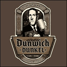 Dunwich Dunkel Lovecraft Tshirt from Tshirt Bordello