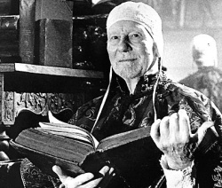 Sir John Gielgud as Prospero from Prospero's Books