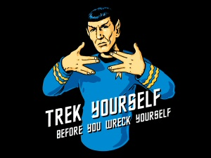 Trek Yourself T-Shirt from Tshirt Bordello
