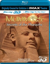 Mummies: Secrets of the Pharaohs Blu-Ray 3D`