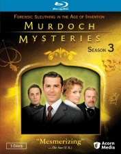 Murdoch Mysteries Season 3 Blu-Ray