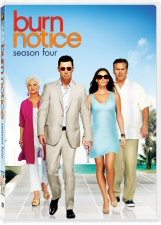 Burn Notice Season 4 DVD