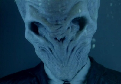 The Silence in Barbicide from the Doctor Who fall trailer