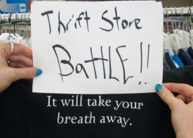 Thrift Store Battle will take your breath away