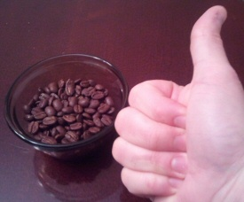 Coffee Thumbs Up