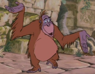 King Louie from The Jungle Book