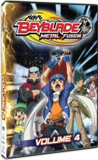 Beyblade: Metal Fusion, Vol. 4 DVD
