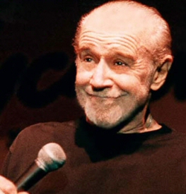 George Carlin smiling