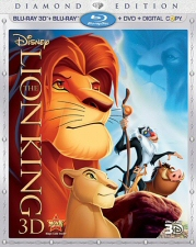 Lion King 3D Blu-Ray