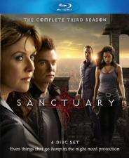 Sanctuary: The Complete Third Season Blu-Ray