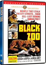 Black Zoo DVD