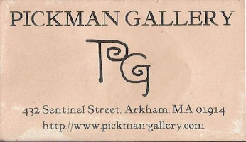Pickman Gallery card front - bpal