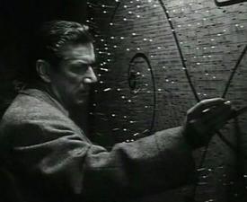 Richard Boone in I Bury the Living
