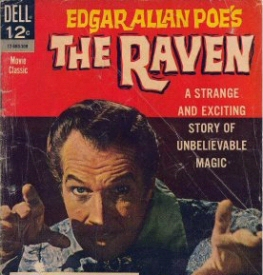 Vincent Price Raven comic