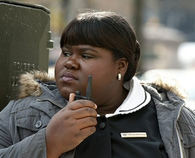 Gabourey Sidibe from Tower Heist