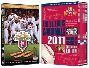 St. Louis Cardinals World Series DVDs