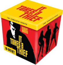 It Takes a Thief: The Complete Series DVD