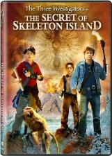 The Three Investigators in The Secret of Skeleton Island DVD