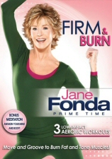 Jane Fonda Prime Time: Firm and Burn DVD