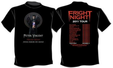 Fright Night Peter Vincent T-Shirt