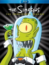 Simpsons Season 14 Blu-Ray