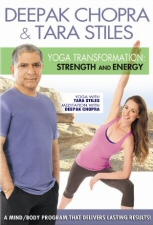 Deepak Chopra and Tara Stiles: Yoga Transformation: Strength and Energy DVD