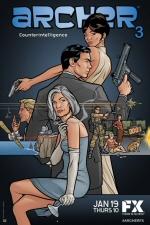 Archer Season 3 Poster