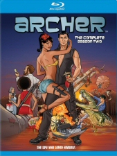 Archer Season 2 Blu-Ray