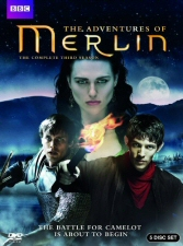 Merlin: The Complete Third Season DVD